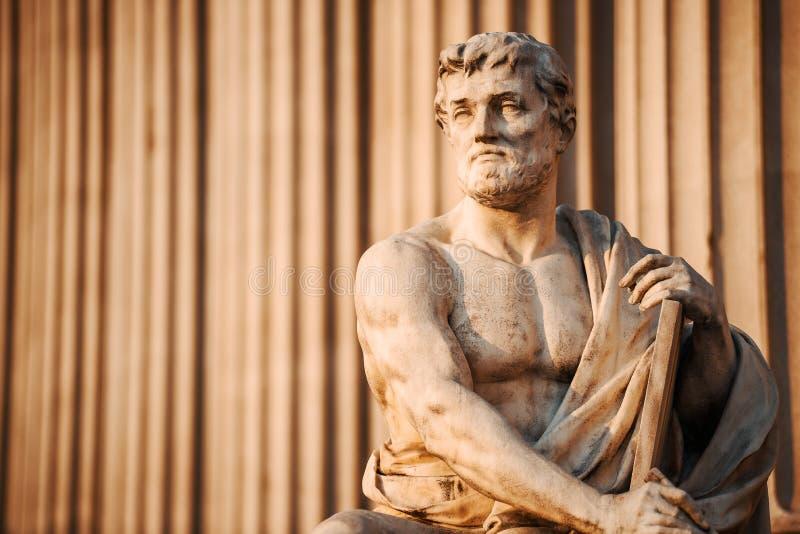 Искусство статуи стоковое изображение