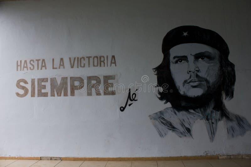 Искусство стены Че Гевара стоковое фото rf