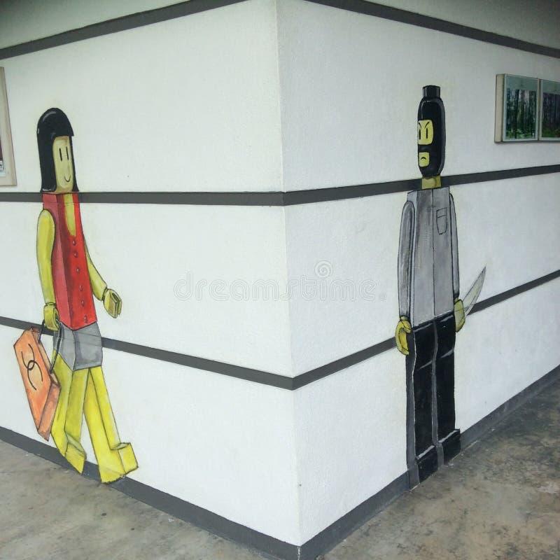 Искусство стены стоковые фотографии rf