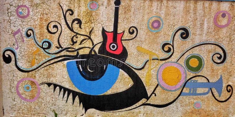 Искусство стены стоковые изображения rf