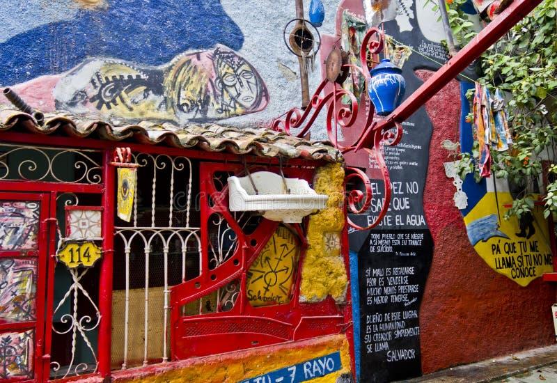 Искусство стены Savator Gonzales стоковое фото