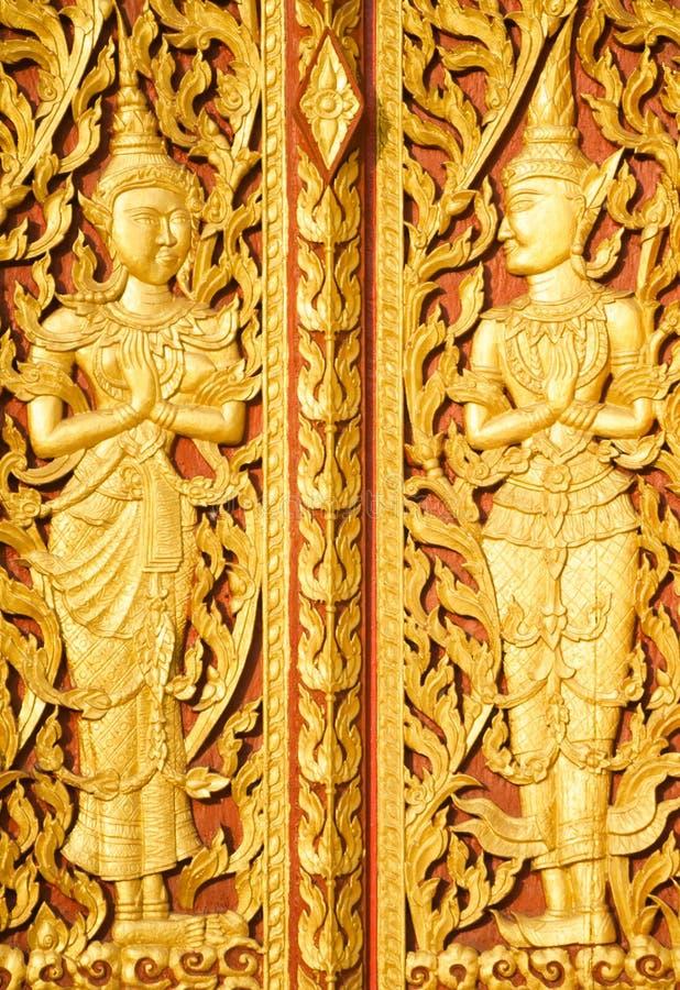 Искусство тайского Lanna на провинции Pattani стоковые изображения rf