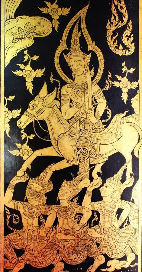 искусство тайское стоковые изображения