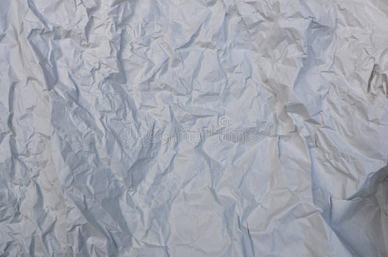 Искусство текстуры белой бумаги морщинки сверху стоковое изображение