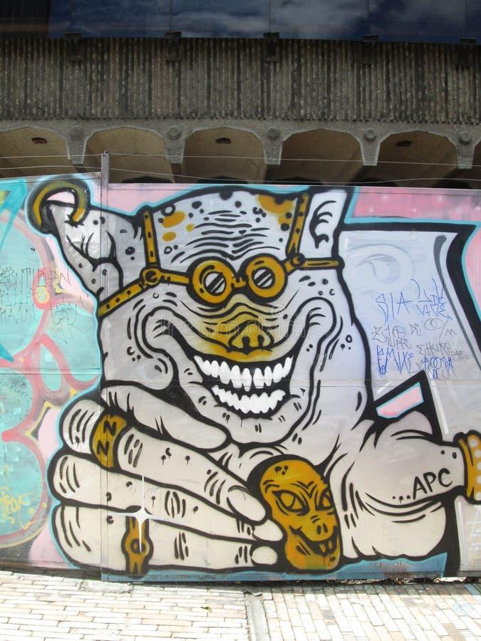 Искусство улицы Богота, Колумбия стоковые изображения rf