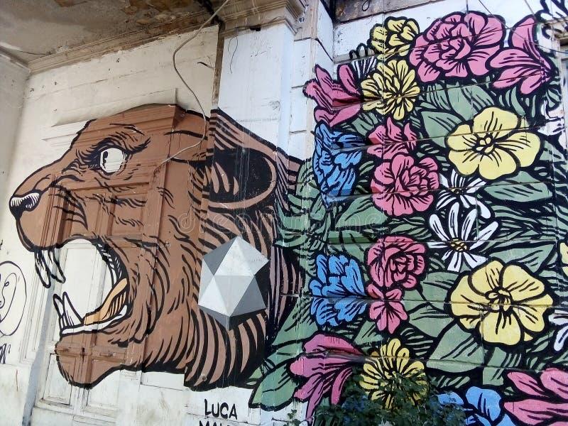 Искусство улицы Roma Testaccio стоковые фото