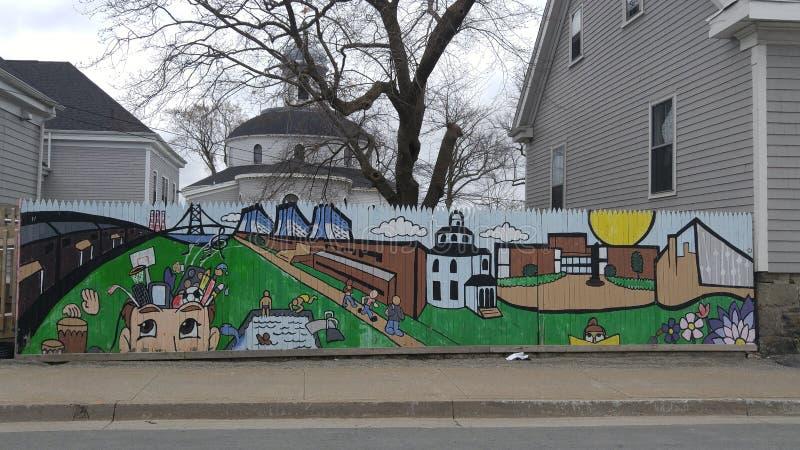 Искусство Halifax 1 улицы стоковые изображения