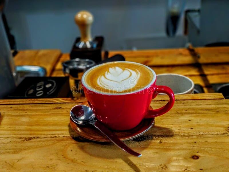 Искусство Latte стоковая фотография