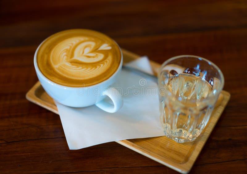 Искусство Latte стоковое фото