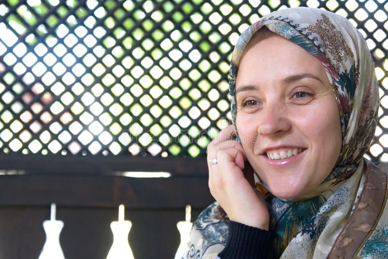 исламская женщина стоковое фото