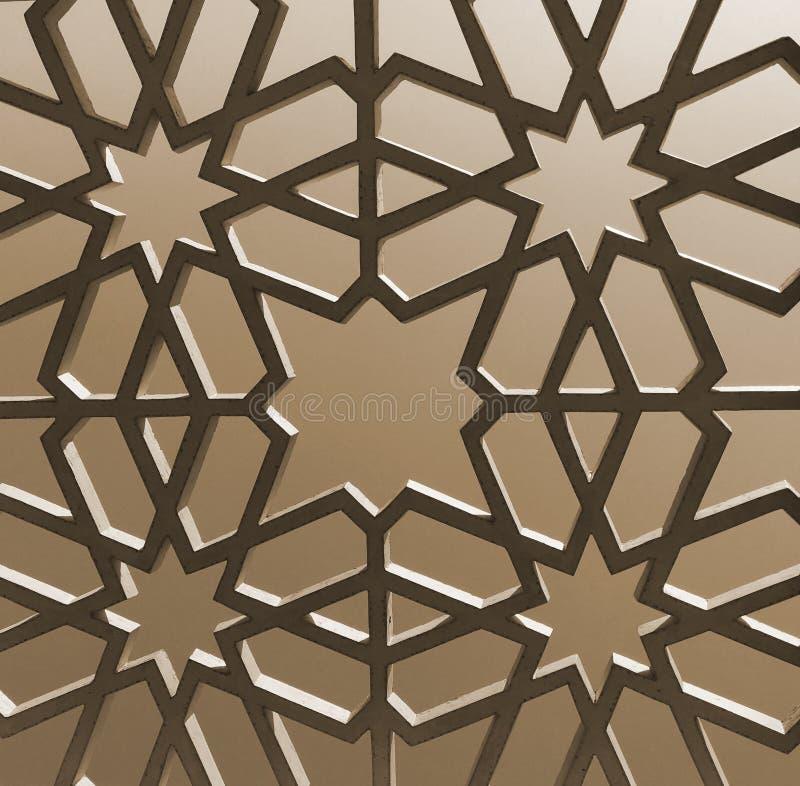 Исламская картина геометрии стоковое фото