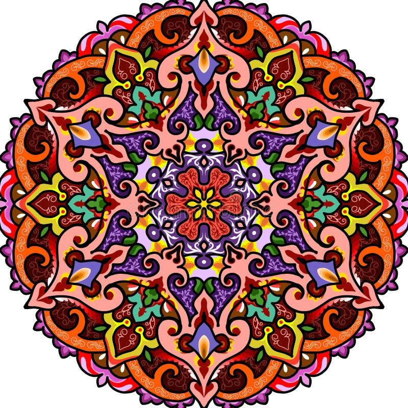 Исламский орнамент mushaf стоковая фотография rf