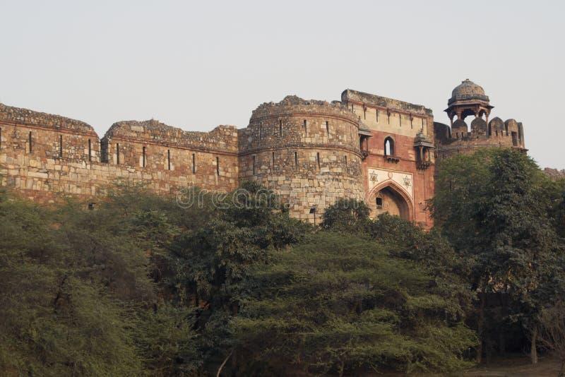 исламское форта историческое стоковое изображение rf