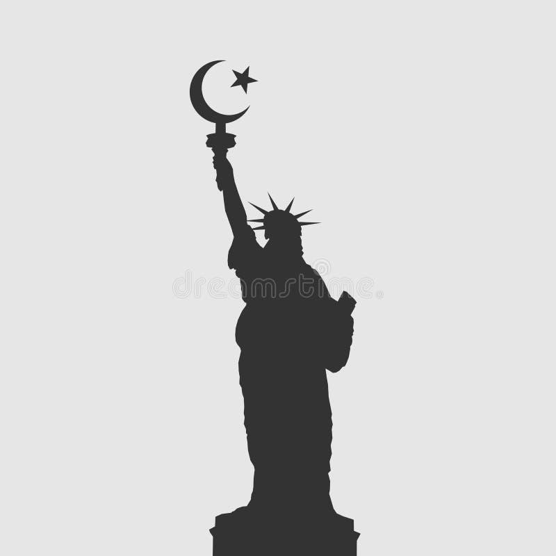 Ислам в США бесплатная иллюстрация