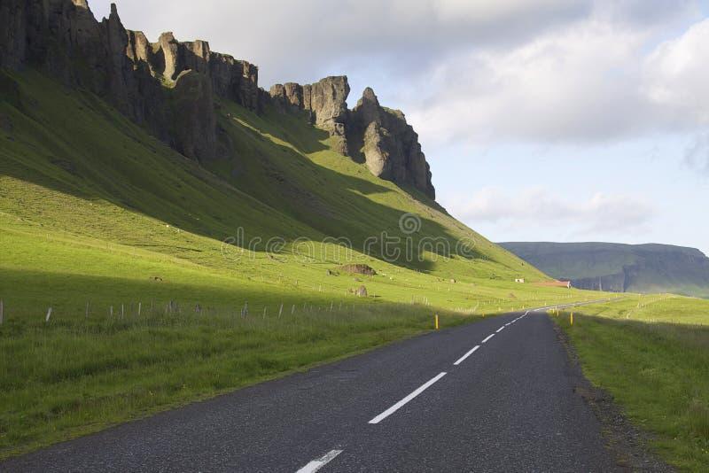 Исландия: Главная дорога Исландии стоковое фото