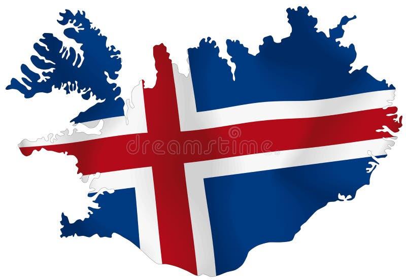 Исландия иллюстрация вектора