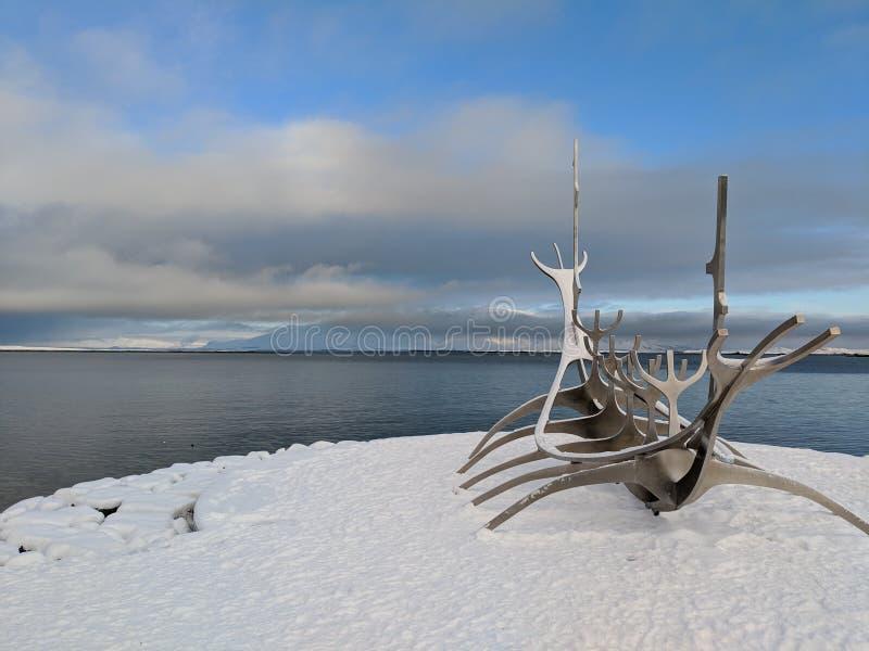 Исландия reykjavik стоковое изображение rf