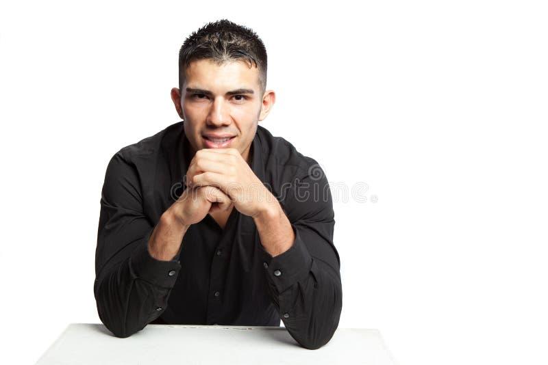 испанец бизнесмена стоковая фотография