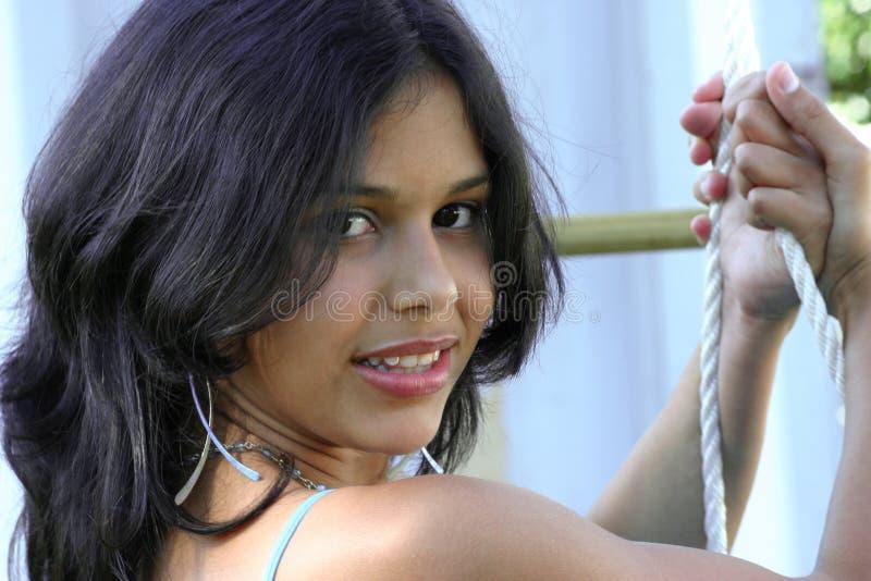 испанец девушки подростковый стоковые изображения rf