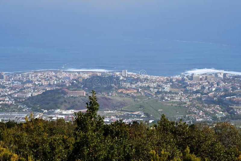 Испания, Канарские острова, Тенерифе, Puerto de Ла Cruz стоковая фотография rf