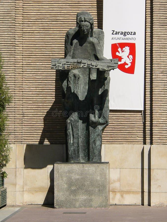 Испания Сарагоса стоковые фотографии rf