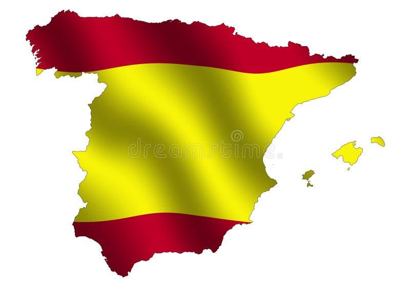 Испания иллюстрация штока