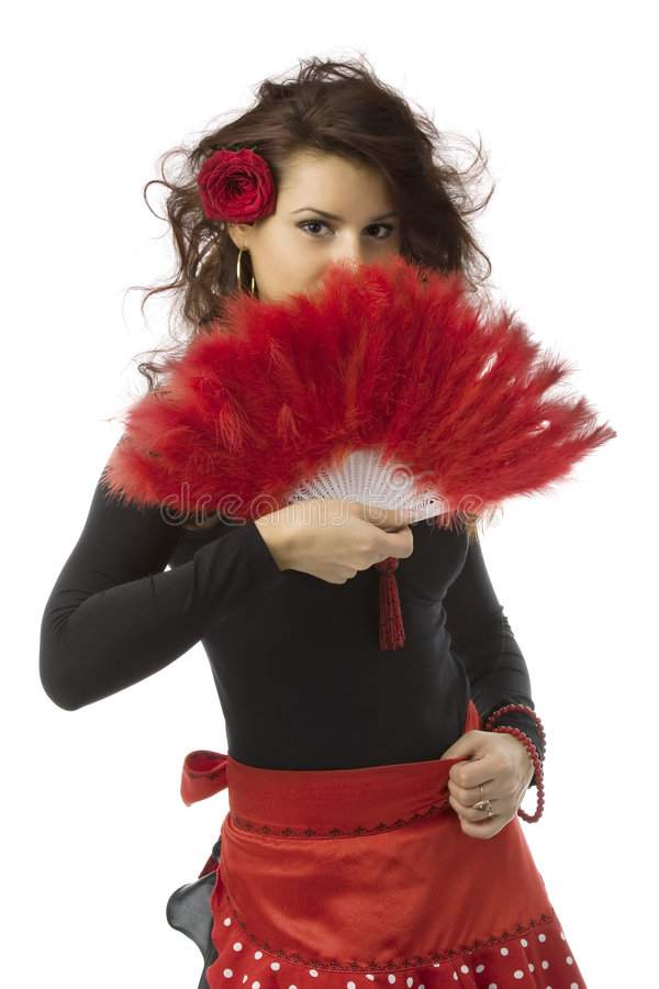 испанская женщина стоковые фото