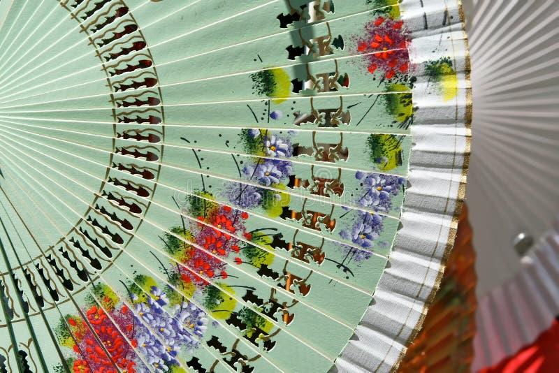 Испанские вентиляторы стоковые изображения