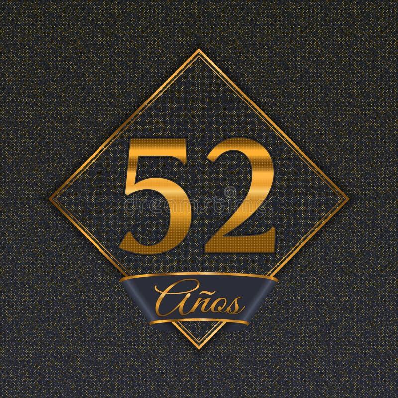 Испанские золотые шаблоны 52 бесплатная иллюстрация
