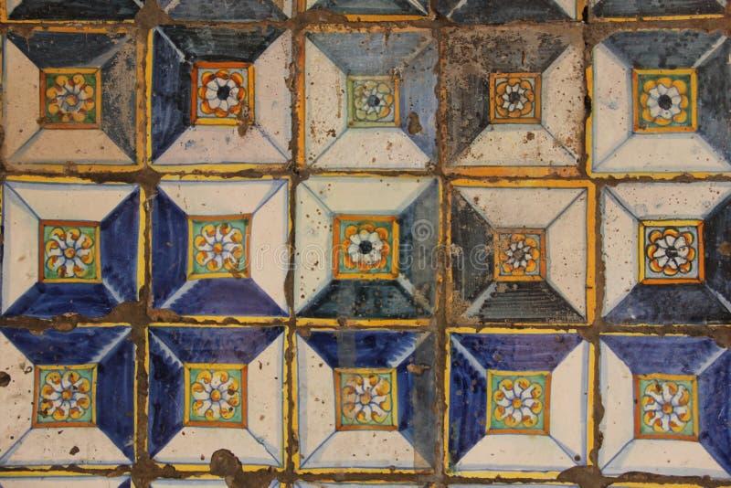 испанские плитки стоковая фотография