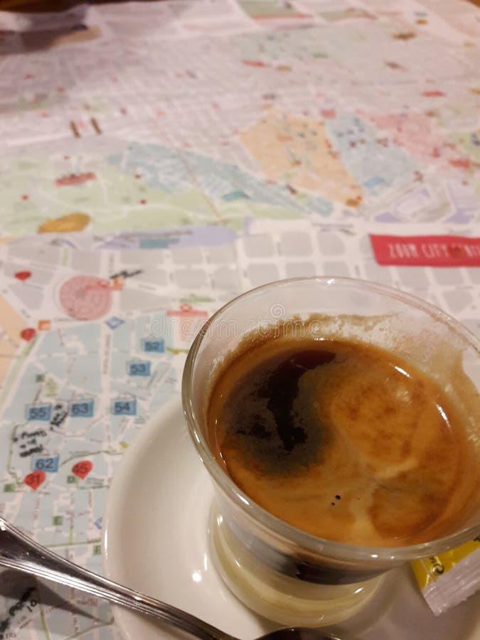 Испанский кофе стоковое фото