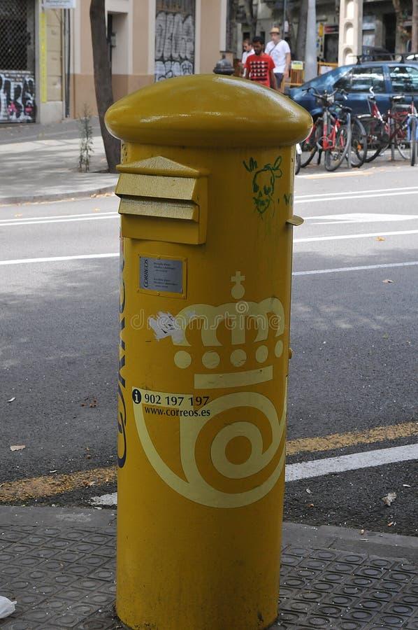 летней веранде желтые почтовые ящики в барселоне фото формы изготавливают металла