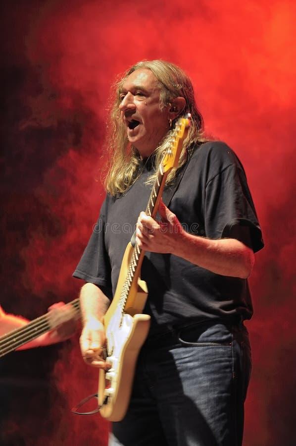 Испанский рок-певец Rosendo стоковое изображение