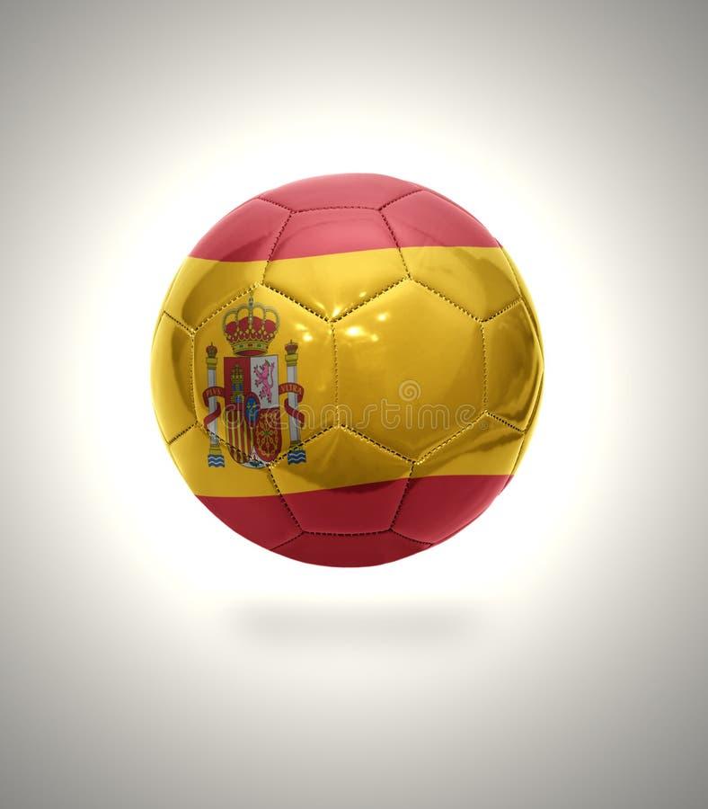 Испанский футбол бесплатная иллюстрация