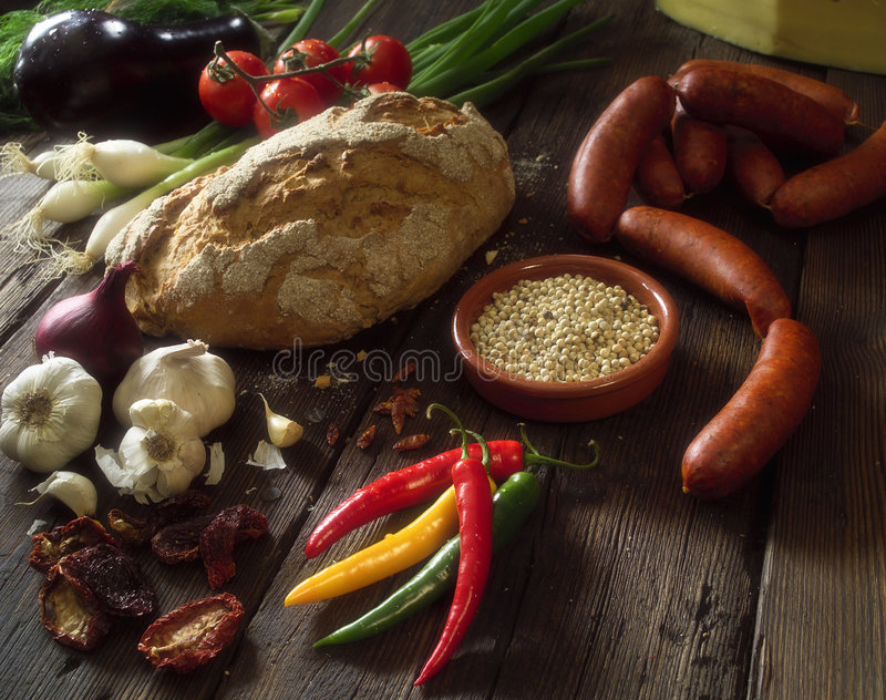 испанский язык еды стоковые фото