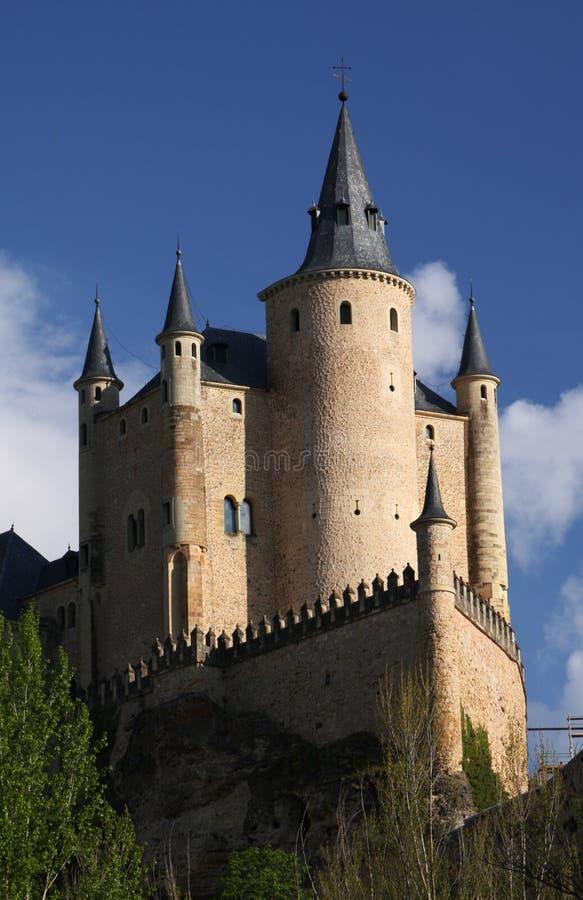 испанский язык замока стоковая фотография rf