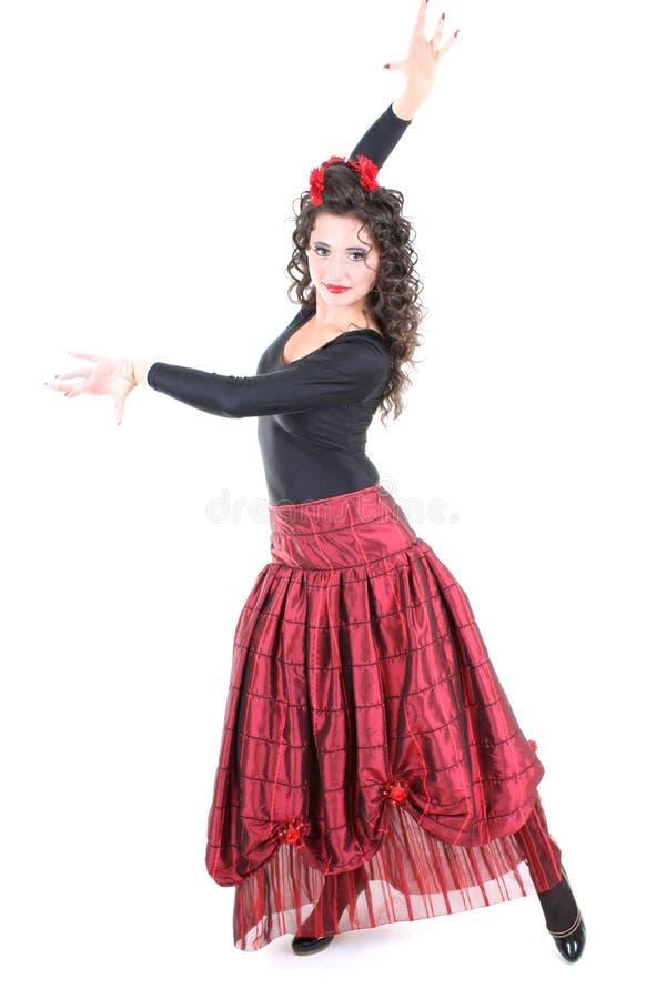 испанский язык танцора стоковое изображение rf