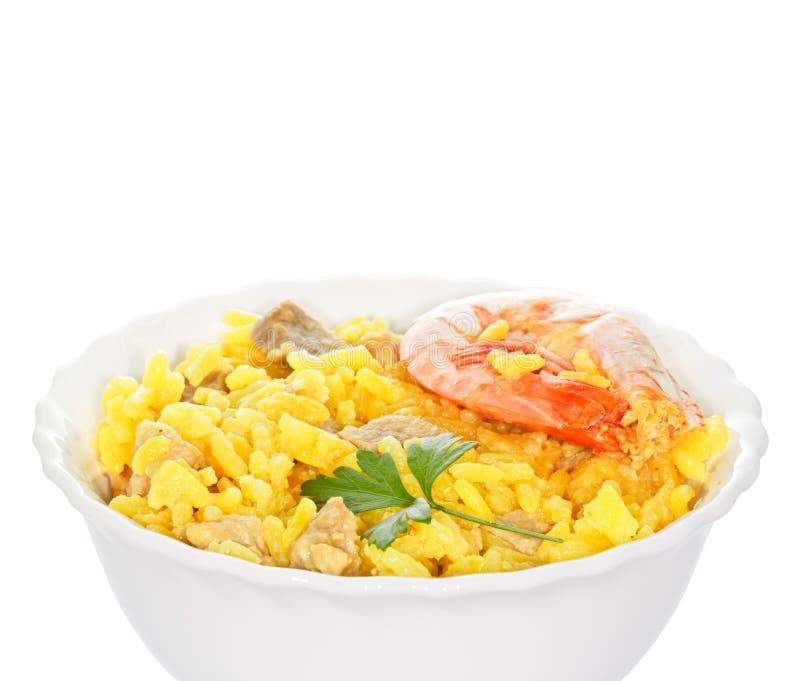 испанский язык paella стоковая фотография