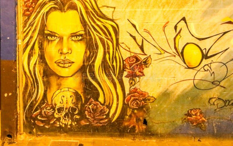 Испанское искусство улицы стоковое фото rf