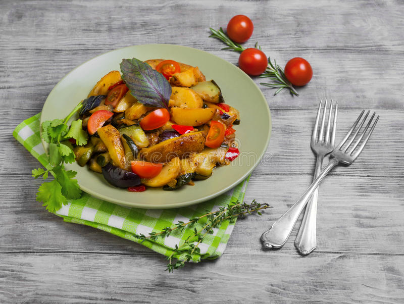 Испаренное фото еды овощей стоковая фотография rf