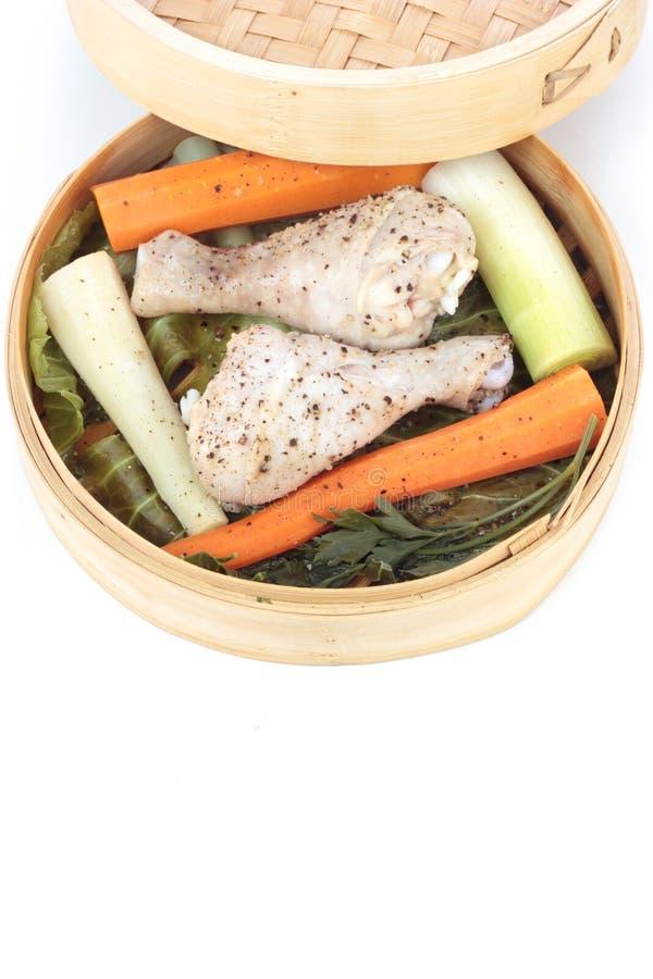 испаренные овощи стоковые фото