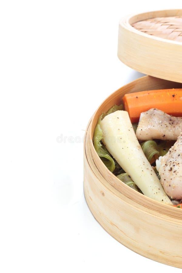 испаренные овощи стоковая фотография