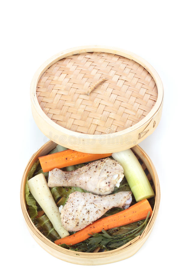 испаренные овощи стоковое фото rf