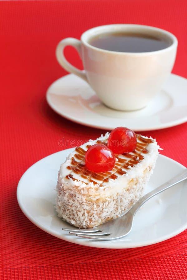 Испеките с печеньем, сливк масла и кокосом стоковые изображения