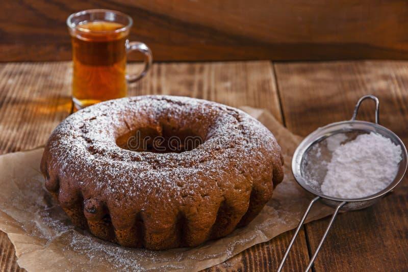 Испеките торт кольца стоковое фото rf