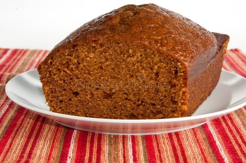 испеченная тыква хлебца хлеба свеже стоковое фото