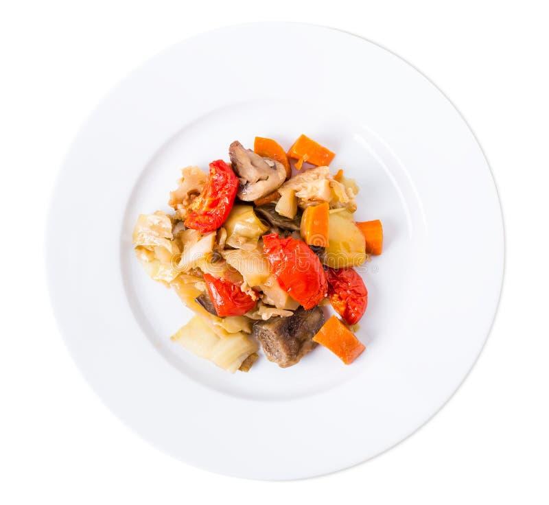Испеченное смешивание овощей стоковые изображения rf