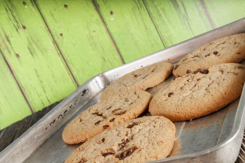 Испеченное homemaid печений обломока шоколада, стоковое изображение