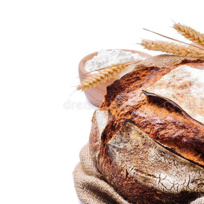 испеченный хлеб свеже традиционный стоковая фотография rf