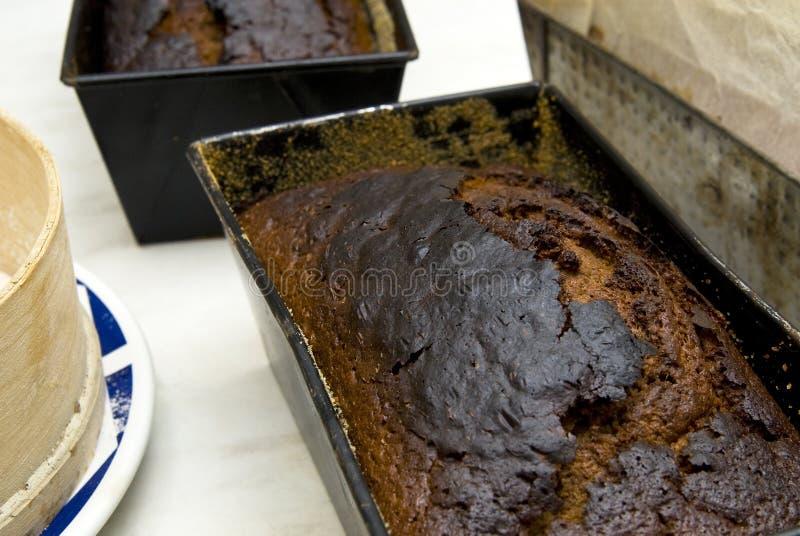 испеченный gingerbread стоковые фотографии rf